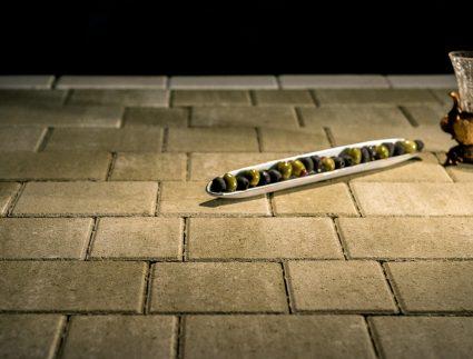 брусчатка тротуарная олива