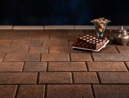 брусчатка тротуарная шоколад
