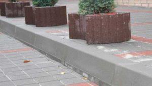 бордюр тротуарный купить в воронеже, магистральный бордюр