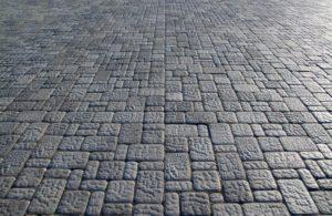 квадратная тротуарная плитка, преимущества